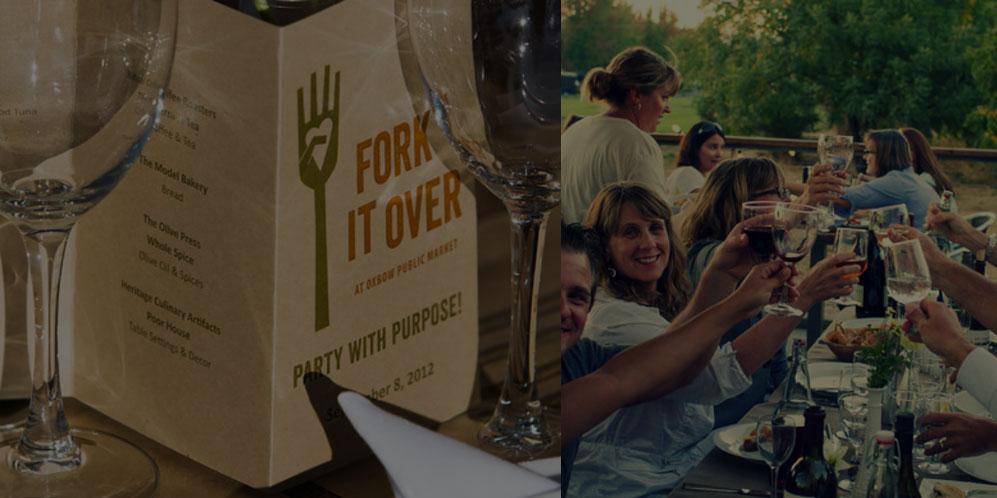 Fork it Over on Saturday, <br>September 12, 2015