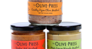 Artisanal mustards to complement your 4th of July menu
