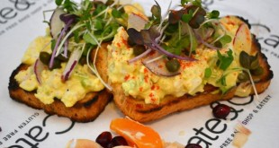 Cate & Co. egg salad sandwich