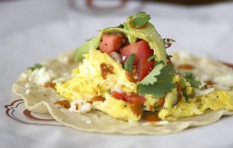 C CASA breakfast tacos