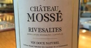 1931 Chateau Mossé Rivesaltes