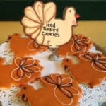 Model Bakery Thanksgiving cookies