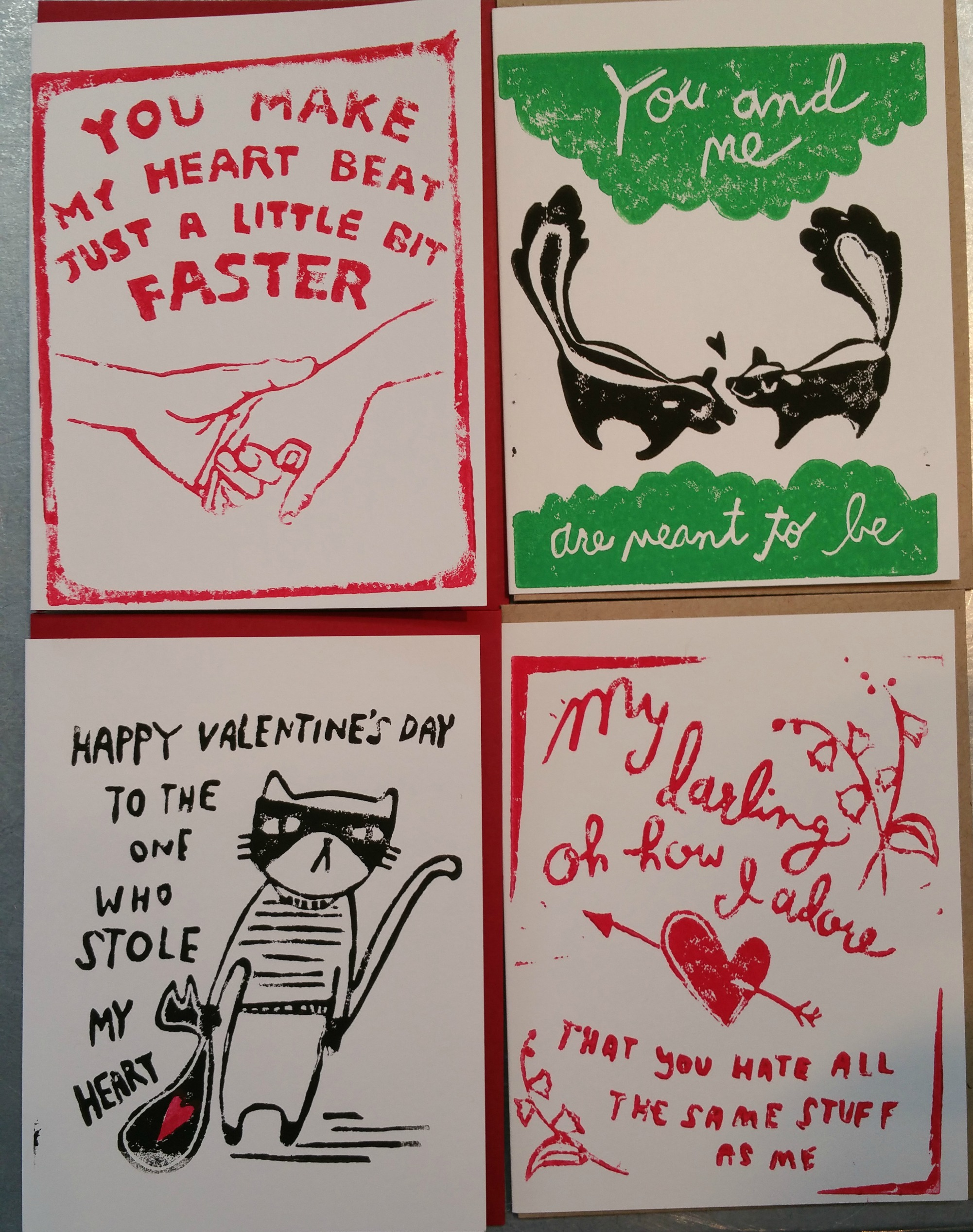 Hudson Valentine's Day Cards