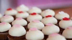 Kara's Valentine cupcakes