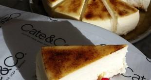 Cate & Co. cheesecake