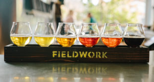 Fieldwork Brewing Company<br>Taproom featuring rotating craft beers