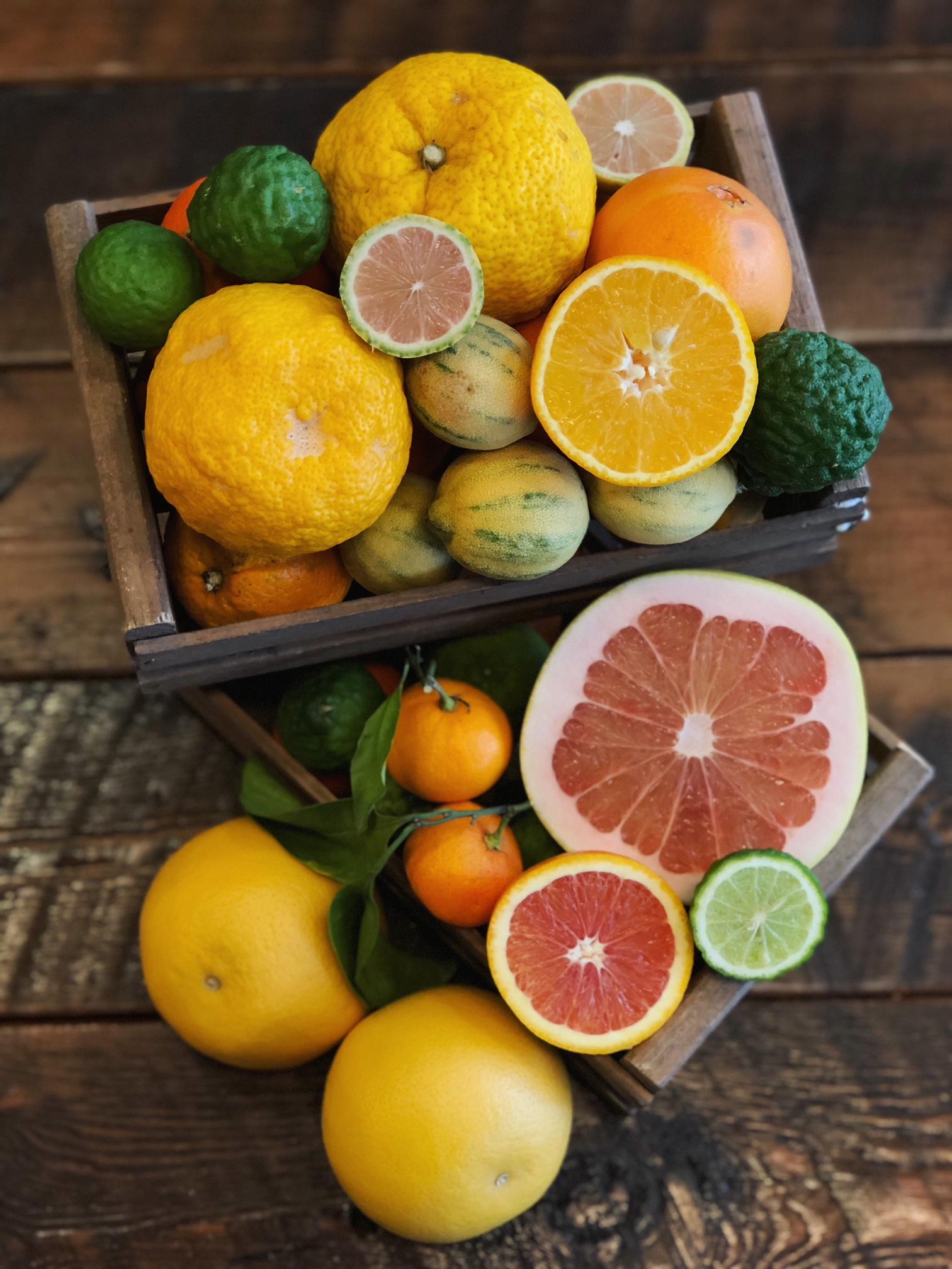 Hudson Greens & Goods citrus