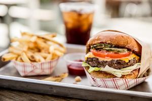 Gott's burger and fried