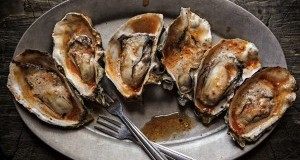 Hog Island Farm-Style BBQ Bourbon Chipotle Butter Oysters
