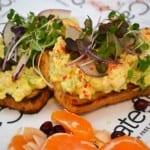 Cate & Co. egg salad sandwich