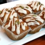 Cate & Co. pumpkin spice muffins