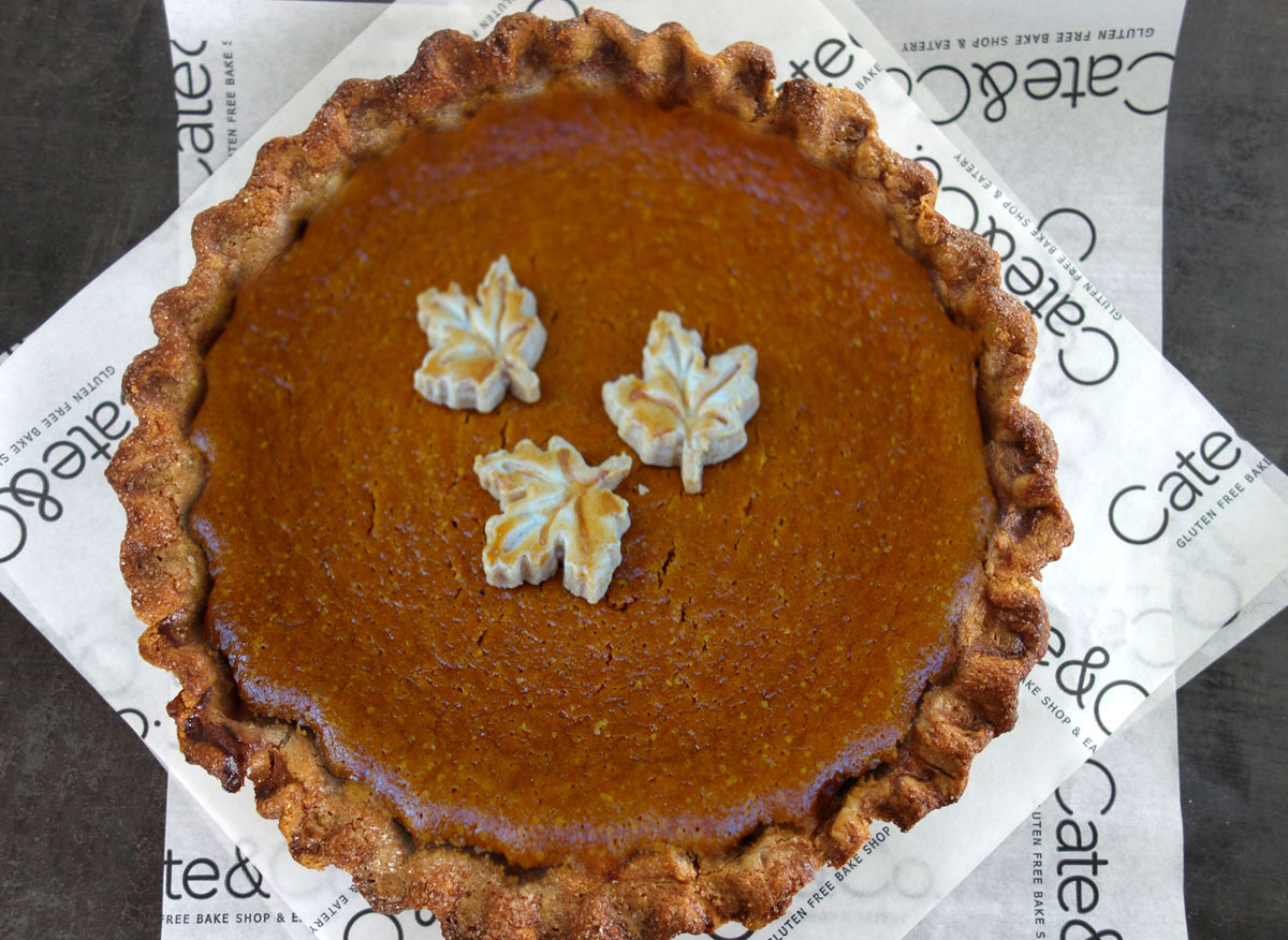 Cate & Co. pumpkin pie