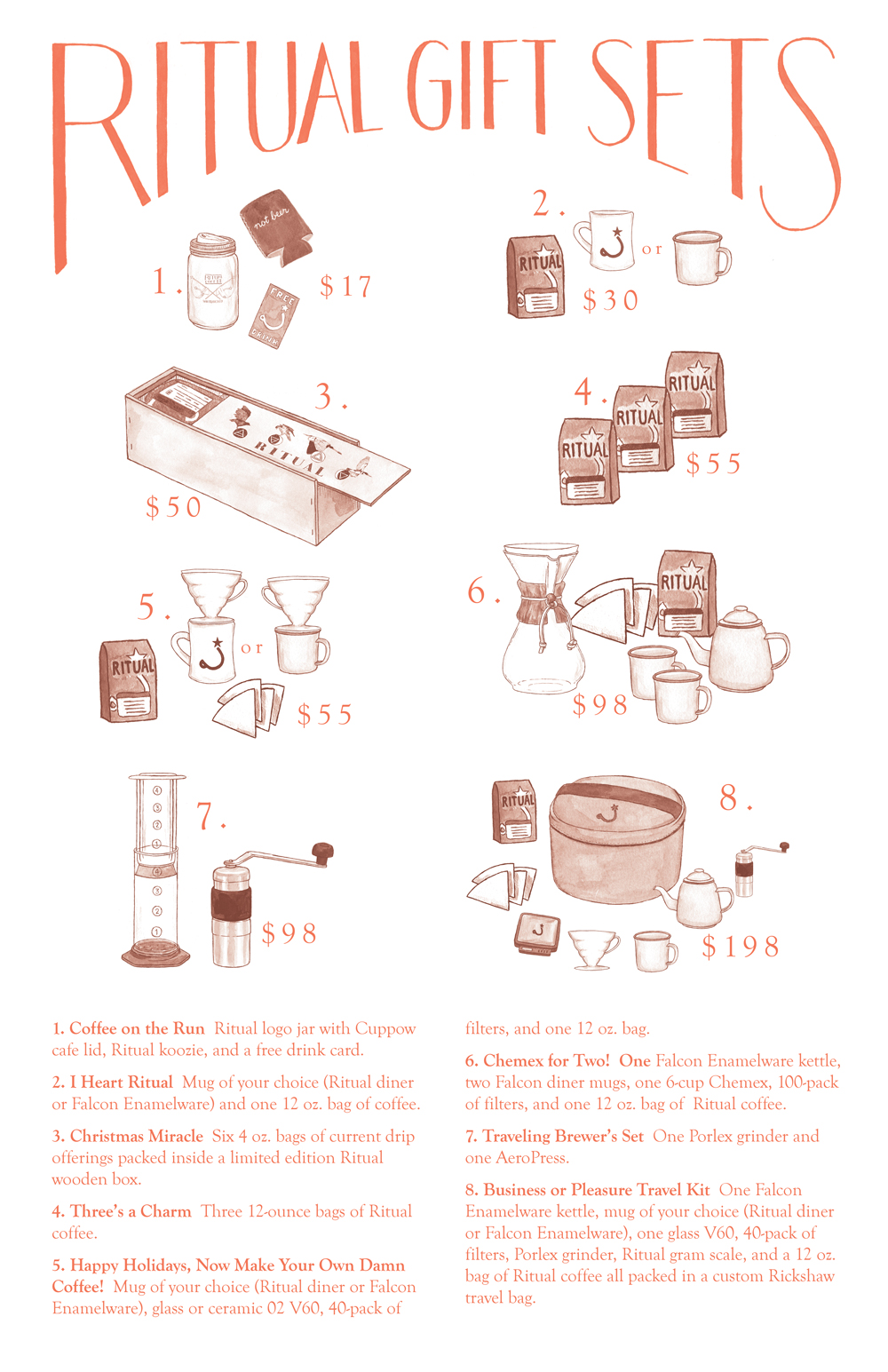 Ritual Coffee Gift Sets