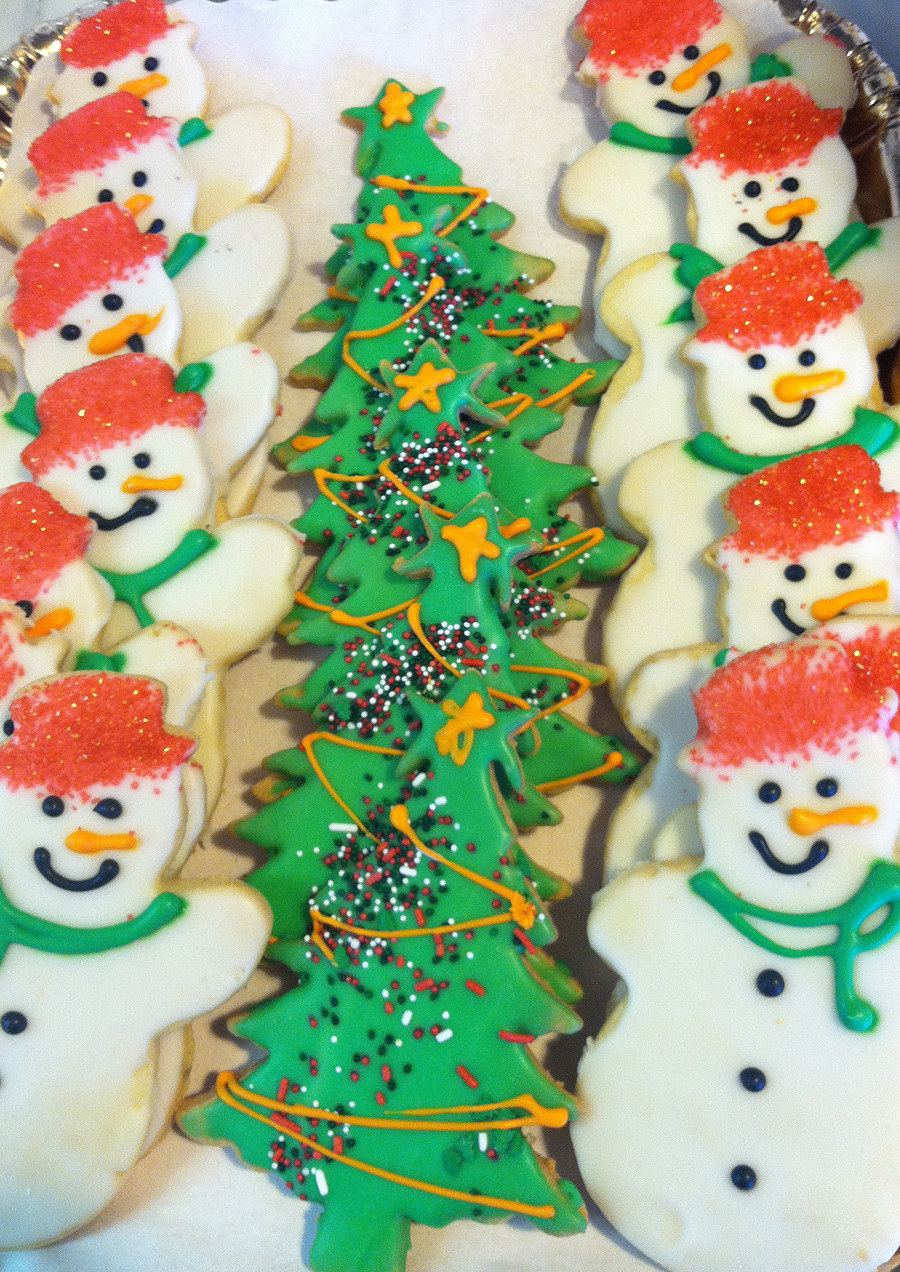 Model Bakery Christmas Cookies