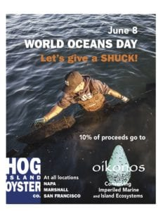 Let's Give a Shuck on World Ocean Day! @ Hog Island Oyster Bar