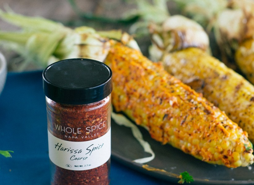 Whole Spice Grilled Corn