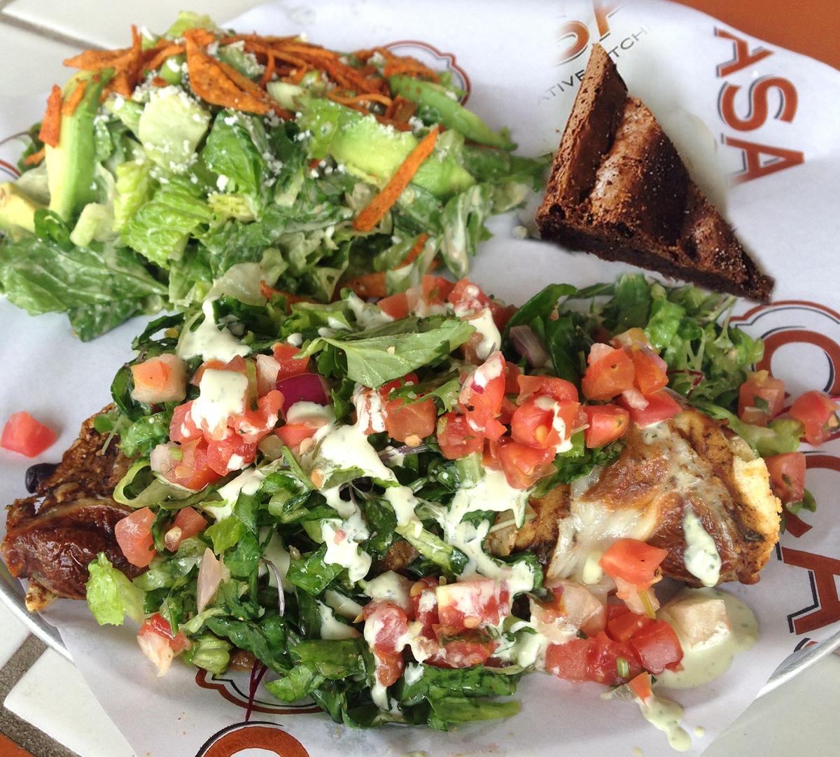 June enchilada plate special