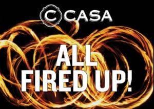 All Fired Up at C CASA @ C CASA